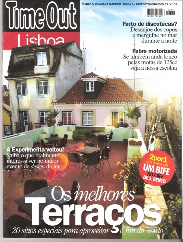 Time Out Lisboa 102 Edition - Best Terraces in Lisbon